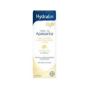 Bayer hydralin gyn crème gel apaisante tube 15g