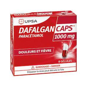 DAFALGANCAPS 1000MG GELULE 8
