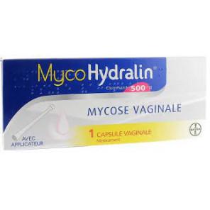 MYCOHYDRALIN 500mg Caps vag Plq/1+applic
