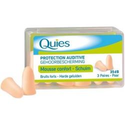 Quies protection auditive chair 3 paires